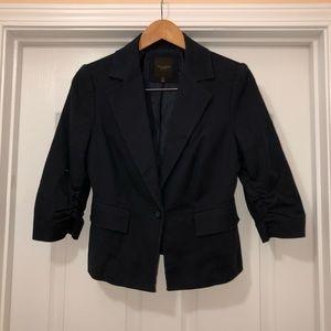 Limited Midnight Blue 3/4 Sleeve Jacket Blazer